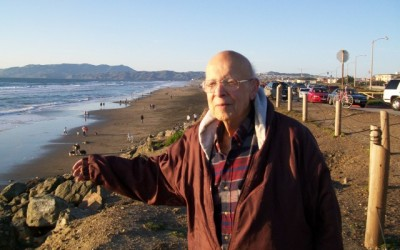 Robert K. Weeks Sr. circa 2012 before hospitalization at San Francisco Ocean Beach where he played as a child