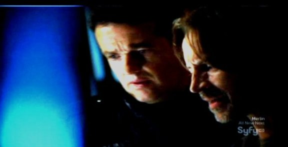SGU S1x13 Faith - Coming out of FTL