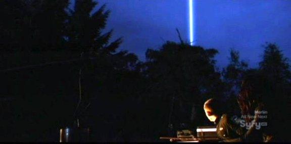SGU S1x13 Faith - The obelisk emots light