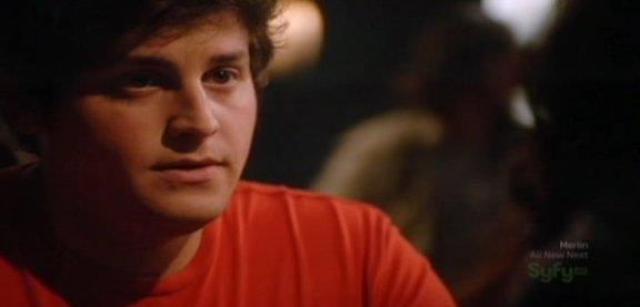 SGU S1x14 Human - David Blue as Eli with Chloe