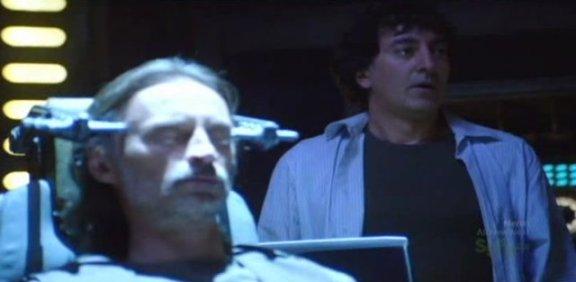 SGU S1x14 Human - Rush and Peter Kelamis as Dr. Brody