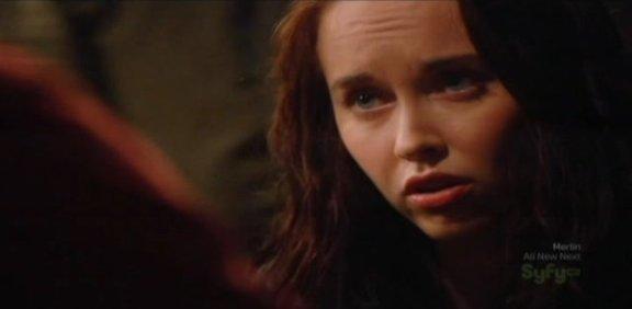 SGU S1x14 Human - Elyse Levesque as Chloe with Eli
