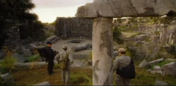 SGU S1x14 Human - Exploring the Ancient ruins wide angle