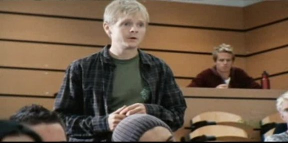 SGU S1x14 Human - Kristian Arye as Dr. Rush's student