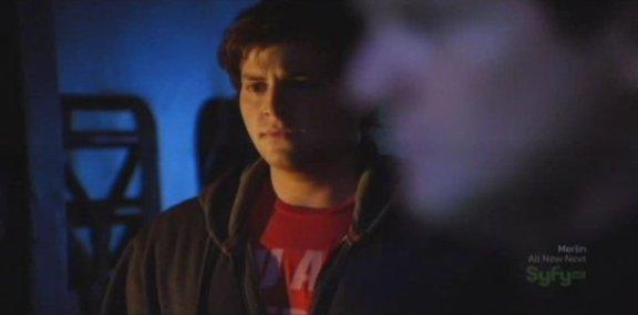 SGU S1x14 Human - David Blue as Eli looks concerned
