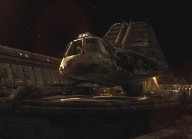 SGU S2x12  - Shuttle on spare parts mission