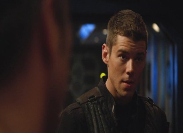 SGU S2x12 Twin Destinies Brian J Smith as Lt. Scott