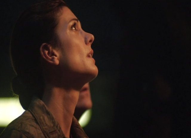 SGU S2x12 Twin Destinies Julia Benson as Lt. Vannesa James