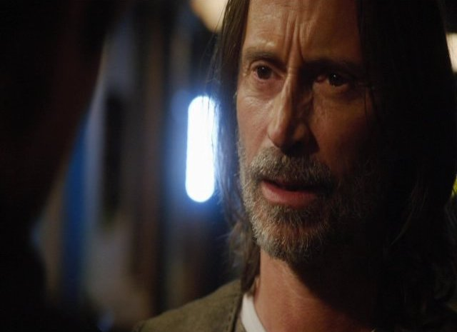 SGU S2x12 Twin Destinies Robert Carlyle as Dr. Rush
