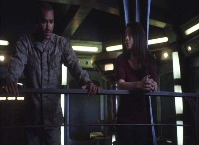 SGU S2x13 - Alliances - Greer  and Camile Wray now friends