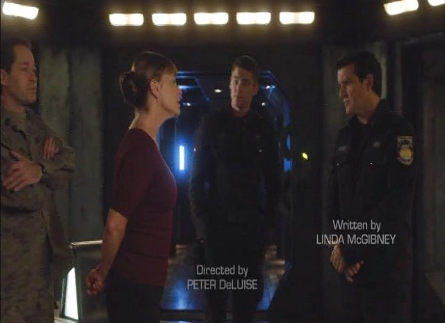 SGU S2x13 - Kathleen Quinlan with the Destiny crew