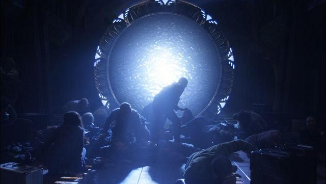 SGU Destiny Stargate and crew in action!