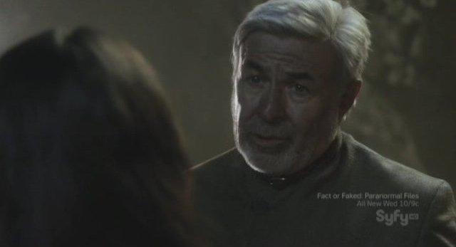 Sanctuary S3x11 - Jim Byrnes as Gregory Magnus