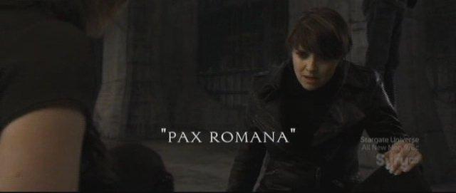 Sanctuary S3x11 - Pax Romana