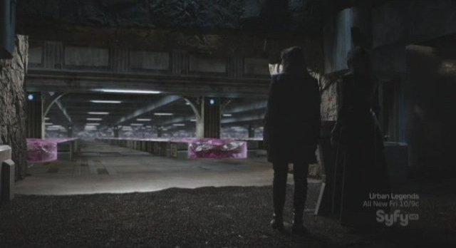 Sanctuary S3x16 - Afina's chamber of horrors