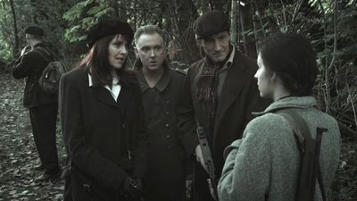 Sanctuary S3x17 Magnus, Watson, Griffin meeting Jeanette Anaise