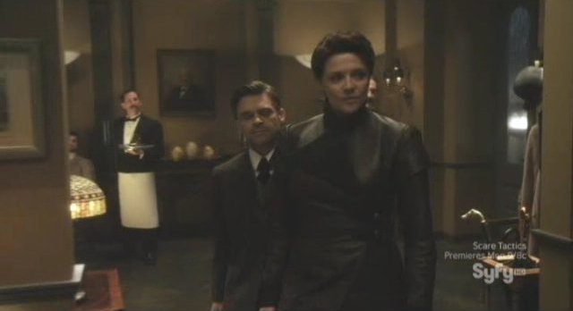 Sanctuary S4x01 - Adam and Helen at the club
