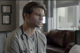 Saving Hope S1x01 - Daniel Gillies as Dr Joel Goran