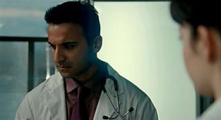 Saving Hope S1x01 - Huse Madhavji as neurosurgeon Shahir Hamza