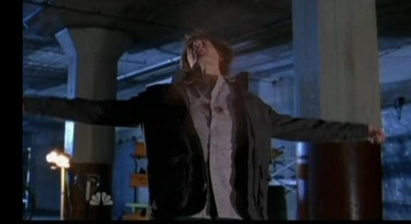 Scott Bakula Chucks Dad is shot by Shaw!