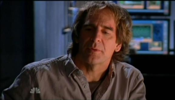 Scott Bakula as Spy Daddy Bartowski in Chuck!