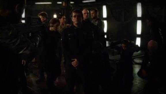 SGU S2x08 Malice - Destiny crew at gunpoint!