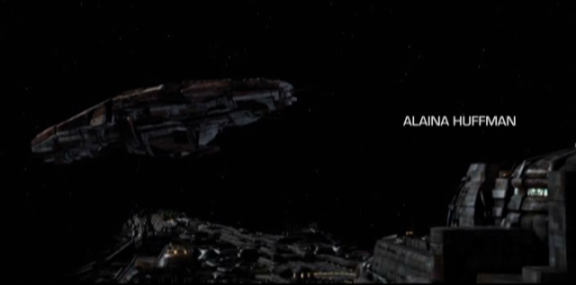 SGU S2x07 - The Greater Good - New Alien Ship