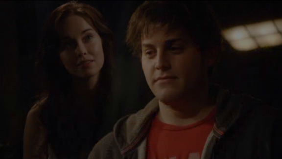 SGU S2x07 The Greater Good - Chloe knows about Eli's romance!