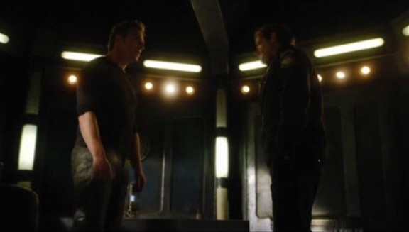 SGU S2x08 Malice - Varro enters bridge to see Young