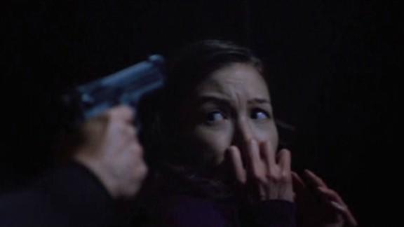 SGU S2x08 Malice - Dr. Park (Jennifer Spence) terrified!