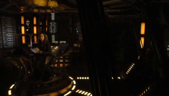 SGU S2x07 The Greater Good - Amanda - Ginn on the Bridge!