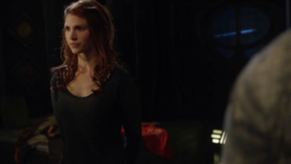 SGU S2x07 The Greater Good - Julie McNiven as Ginn