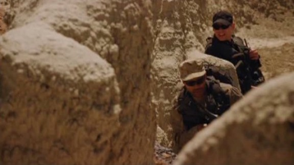 SGU S2x08 Malice - Greer Scott on the move in Badlands