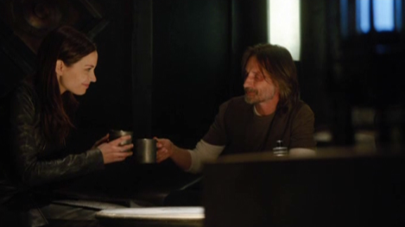 SGU S2x07 The Greater Good - Mandy in Ginn & Dr. Rush
