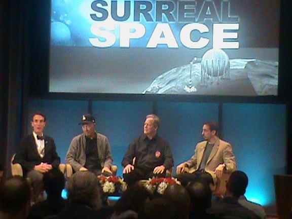 Bill Nye and guests at JPL - Image courtesy Patti Beninati!