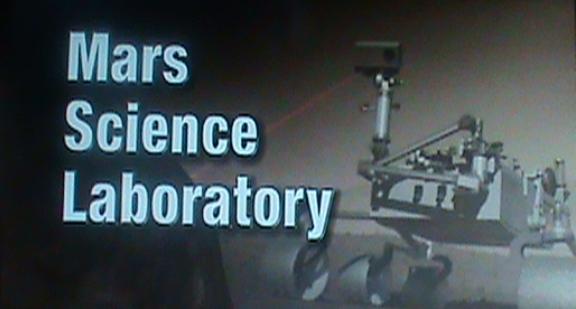 Mars Science Laboratory image courtesy of NASA!