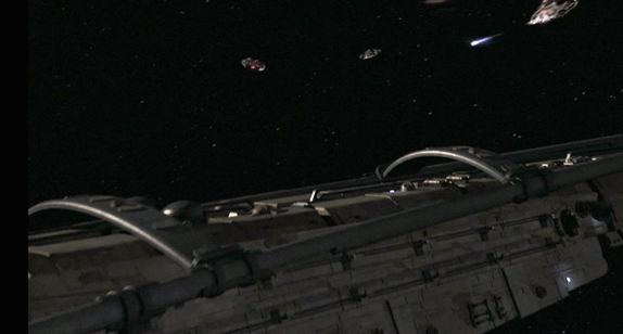 SGU Resurgence S2x10 Engaging the command ship