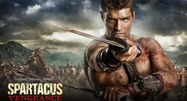 Spartacus Vengeance banner -  Learn more at Starz!