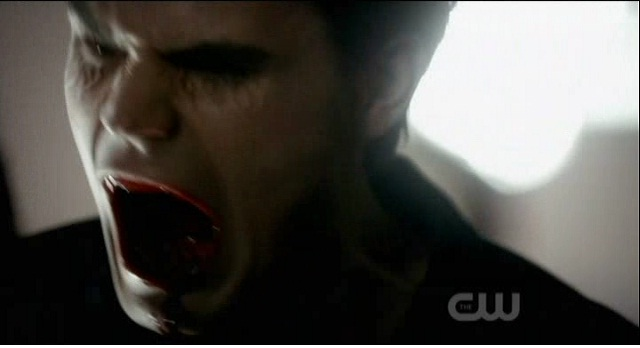 The Vampire Diaries 3x05 Stefan rips the students to shreds