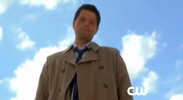 Supernatural S7x01 - Misha Collins as Casteil