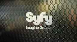 New SyFy Logo - Chain Link Fence