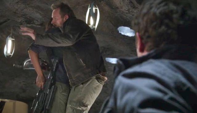 "Terra Nova S01x03 ""What Remains"" Remembers Malcolm"