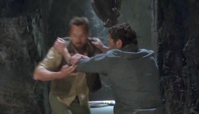 "Terra Nova S01x03 ""What Remains"" Malcom"