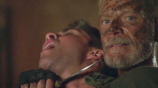 "Terra Nova S01x03 ""What Remains"" Taylor attacks"