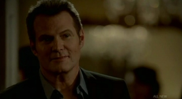 The Vampire Diaries Bill confronts Damon at meeting