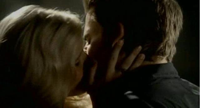 The Vampire Diaries 3x04 Stefan and Rebekah kiss
