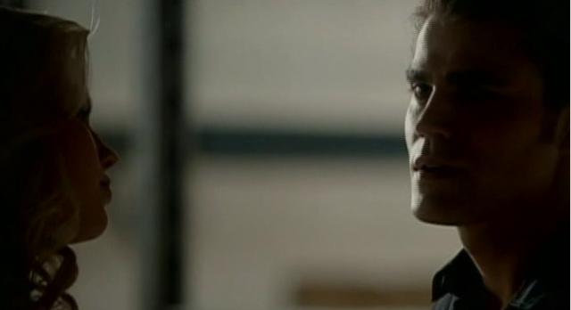 The Vampire Diaries 3x04 Stefan and Rebekah talk