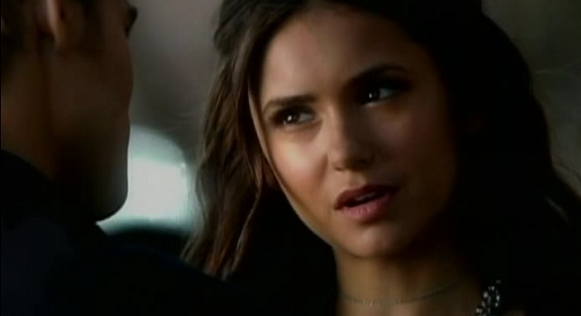 The Vampire Diaries 3x04 Stefan and Katherine Talk in Chicago