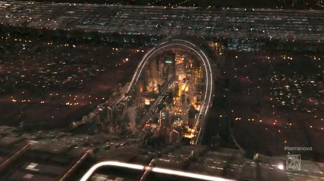 TerraNova S01x01 View of city center 2149