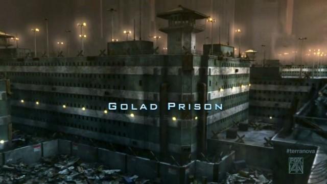 Terra Nova S01x01 Golad Prison